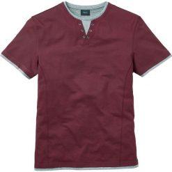 T-shirty męskie: T-shirt 2 w 1 Regular Fit bonprix bordowy
