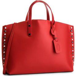 Torebka CREOLE - K10497  Czerwony. Czerwone torebki klasyczne damskie Creole, ze skóry, duże. W wyprzedaży za 239,00 zł.