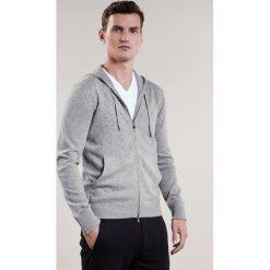 Swetry rozpinane męskie: Falke Kardigan light grey