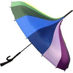 """Parasole: Parasol """"Plain Pagoda Rainbow"""" z kolorowym wzorem"""