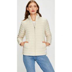 Calvin Klein Jeans - Kurtka puchowa dwustronna. Szare kurtki damskie jeansowe Calvin Klein Jeans, l. W wyprzedaży za 639,90 zł.