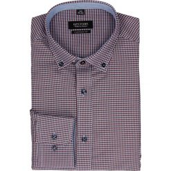 Koszula bexley 2229 długi rękaw custom fit bordo. Szare koszule męskie jeansowe marki Recman, m, button down, z długim rękawem. Za 69,99 zł.