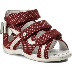 Sandały dziewczęce: Sandały BARTEK – 011707-1-1NN II Czerwono Biały