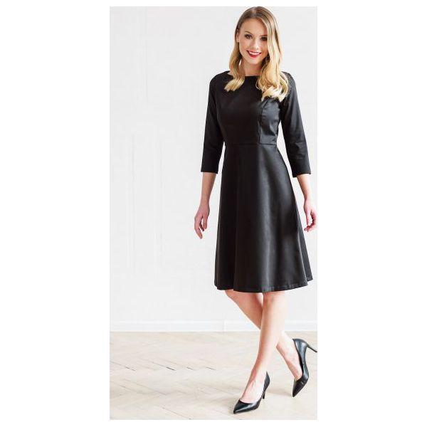 107dcfed98 Sukienka Asteria czarna 32 - Czarne sukienki damskie ACME