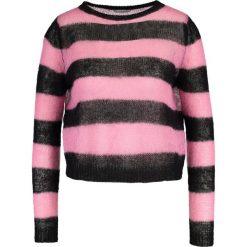 Swetry klasyczne damskie: iBlues CARABOI Sweter black