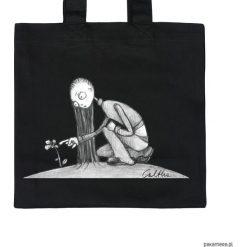 Kwiat - torba premium. Czarne shopper bag damskie marki KIPSTA, m, z elastanu, z długim rękawem, na fitness i siłownię. Za 79,00 zł.