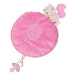 Przytulanki i maskotki: Wiewiórka kocyk przytulanka, różowy (74961)