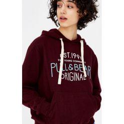 Bluzy damskie: Bluza z kapturem i logo