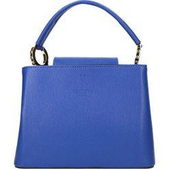 """Torebki klasyczne damskie: Skórzana torebka """"Foche"""" w kolorze dżinsu – 24,5 x 18 x 12 cm"""