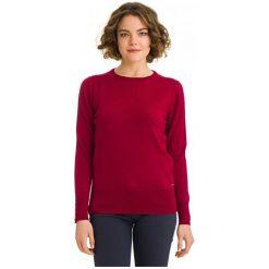 Galvanni Sweter Damski Bunbury S, Czerwony. Czerwone swetry klasyczne damskie GALVANNI, s, z materiału. W wyprzedaży za 269,00 zł.