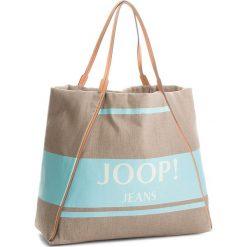 Torebka JOOP! - JEANS Lara 4140003848 Light Blue 401. Brązowe torby plażowe marki JOOP!, z jeansu, duże. W wyprzedaży za 389,00 zł.