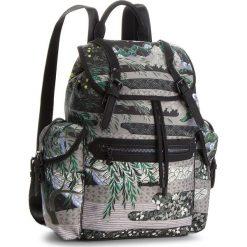 Plecak DESIGUAL - 18WAXFAF 4003. Zielone plecaki damskie Desigual, z materiału, klasyczne. W wyprzedaży za 279,00 zł.