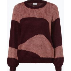 Swetry klasyczne damskie: Vila - Sweter damski – Visculture, różowy