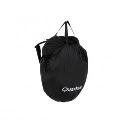 Torba transportowa do namiotu QUECHUA. Czarne torebki klasyczne damskie marki B'TWIN, z materiału. Za 31,00 zł.