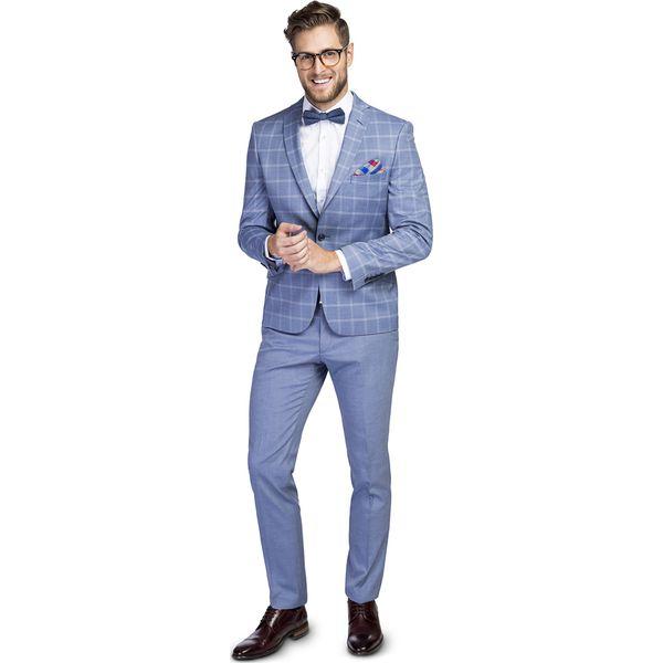 3c2ce5cbcd551 Garnitur LEONARDO GANS000137 - Niebieskie garnitury męskie Giacomo ...