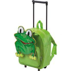 """Walizki: Walizka """"Frog"""" w kolorze zielonym – 25 x 35 x 13 cm"""