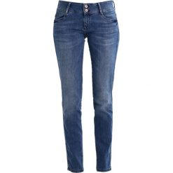 S.Oliver RED LABEL Jeansy Slim Fit blue denim. Niebieskie jeansy damskie marki s.Oliver RED LABEL, z bawełny. W wyprzedaży za 224,25 zł.
