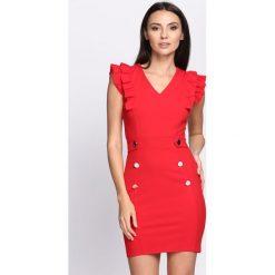 Sukienki: Czerwona Sukienka Island Of Love