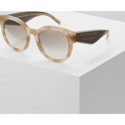 Burberry Okulary przeciwsłoneczne beige havana. Czarne okulary przeciwsłoneczne damskie lenonki marki Burberry. Za 899,00 zł.