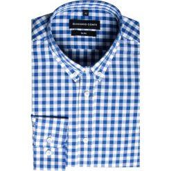 Koszula SIMONE KDWS000231. Białe koszule męskie jeansowe marki Giacomo Conti, m, button down. Za 149,00 zł.