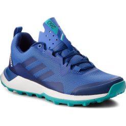 Buty adidas - Terrex Cmtk W AC7937 Hirblu/Mysink/Hiraqu. Niebieskie buty do biegania damskie marki Salomon, z gore-texu, na sznurówki, gore-tex. W wyprzedaży za 279,00 zł.