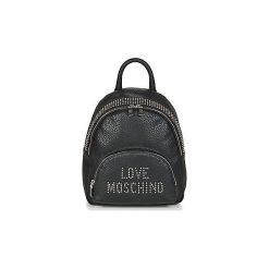 Plecaki Love Moschino  GANGAPA. Czarne plecaki damskie marki Love Moschino. Za 899,00 zł.