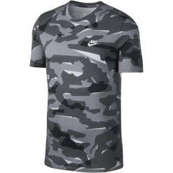 Nike T-Shirt Męski M Nsw Tee Camo Pack 1/Wolf Grey/Cool Grey/White L. Białe t-shirty męskie marki Nike, l, z bawełny. Za 119,00 zł.