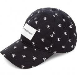 Czapka z daszkiem CALVIN KLEIN JEANS - J Mono Print Cap K60K605308 016. Czarne czapki z daszkiem damskie Calvin Klein, z bawełny. Za 159,00 zł.