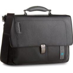 Torba na laptopa PIQUADRO - CA3111P15/N  Czarny. Czarne torby na laptopa marki Piquadro, ze skóry. W wyprzedaży za 1179,00 zł.