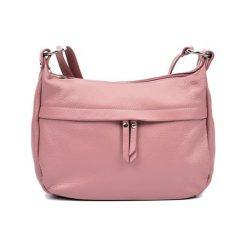Torebki klasyczne damskie: Skórzana torebka w kolorze różowym – (S)22 x (W)36 x (G)12 cm