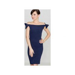 Sukienki: Sukienka K028 Granat