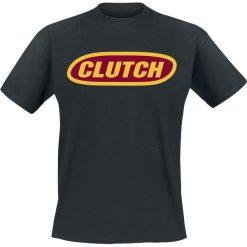 Clutch Logo T-Shirt czarny. Czarne t-shirty męskie Clutch, xxl. Za 74,90 zł.
