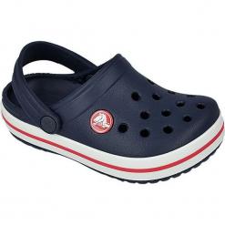 Buty dziecięce Crocband navy r. 24-25. Czerwone buciki niemowlęce marki Crocs, z materiału. Za 121,89 zł.