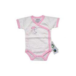 Ebi & Ebi  Fairtrade Body dziecięce. Niebieskie body niemowlęce marki Ebi & Ebi, z bawełny, z długim rękawem. Za 45,00 zł.