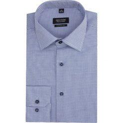 Koszula versone 2814 długi rękaw custom fit granatowy. Szare koszule męskie marki Recman, m, z długim rękawem. Za 139,00 zł.