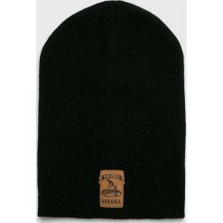 True Spin - Czapka. Czarne czapki zimowe męskie marki True Spin, na zimę, z dzianiny. Za 69,90 zł.