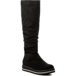 Kozaki JENNY FAIRY - WS16329-10 Czarny. Czarne buty zimowe damskie marki Jenny Fairy, z materiału. Za 149,99 zł.