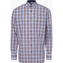 OLYMP Luxor comfort fit - Koszula męska – niewymagająca prasowania, pomarańczowy. Brązowe koszule męskie non-iron marki FORCLAZ, m, z materiału, z długim rękawem. Za 229,95 zł.