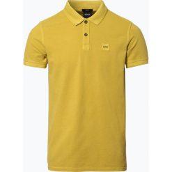 Odzież: BOSS Casual – Męska koszulka polo – Prime, żółty