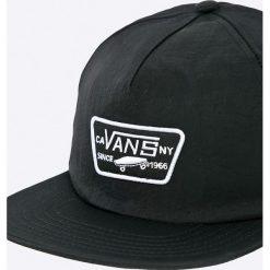 Vans - Czapka. Czarne czapki z daszkiem męskie Vans, z nylonu. W wyprzedaży za 79,90 zł.