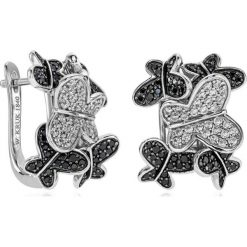 Kolczyki damskie: PROMOCJA Kolczyki Srebrne – srebro 925, Cyrkonia…