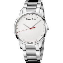 ZEGAREK CALVIN KLEIN City K2G2G1Z6. Szare zegarki męskie Calvin Klein, szklane. Za 899,00 zł.