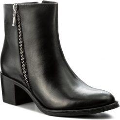 Botki EVA MINGE - Valentia 2B 17GR1372261EF 101. Czarne buty zimowe damskie Eva Minge, ze skóry ekologicznej. W wyprzedaży za 299,00 zł.