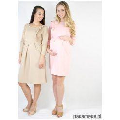 Sukienka ciążowa i do karmienia Rosy. Czerwone sukienki ciążowe marki Pakamera, biznesowe. Za 229,00 zł.