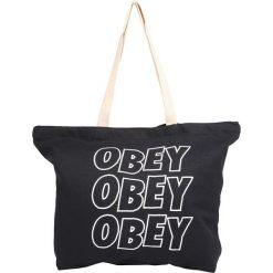 Obey Clothing JUMBLE  Torba na zakupy black. Czarne torebki klasyczne damskie Obey Clothing. Za 129,00 zł.