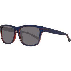 Okulary przeciwsłoneczne męskie lustrzane: Okulary męskie w kolorze granatowo-szarym