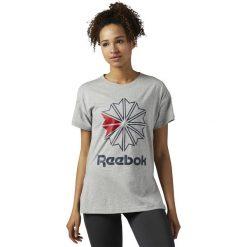 Koszulka Reebok W Classic (BQ2524). Szare bluzki damskie marki Reebok, l, z dzianiny, casualowe, z okrągłym kołnierzem. Za 79,99 zł.