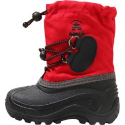 Buty zimowe damskie: Kamik SOUTHPOLE4 Śniegowce red
