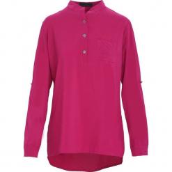 Ciemnofioletowa Koszula Gabby. Różowe koszule damskie Born2be, l, z dzianiny, eleganckie, z długim rękawem. Za 59,99 zł.