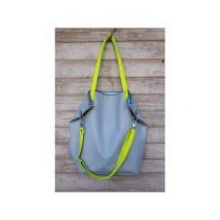 Torebki klasyczne damskie: Torba Worek  Waterproof Blue Lime